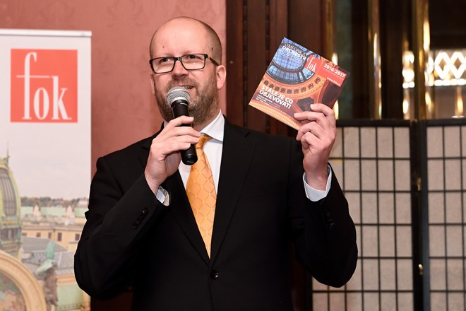 Daniel Sobotka - ředitel Symfonického orchestru hlavního města Prahy FOK (foto archiv FOKu)