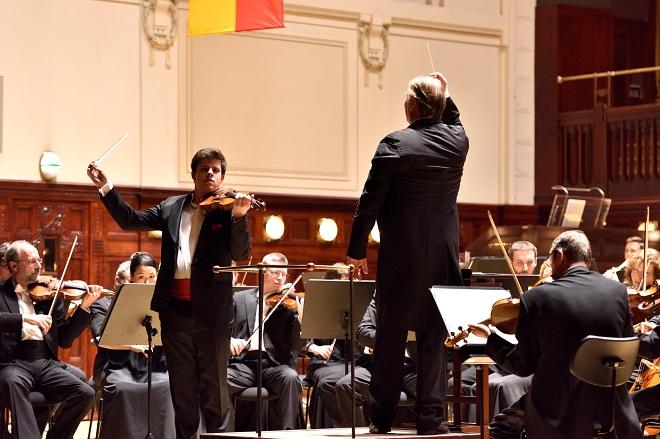 Symfonický orchestr hl.m. Prahy FOK - Jan Mráček, Jac van Steen (foto Petr Dyrc / FOK)