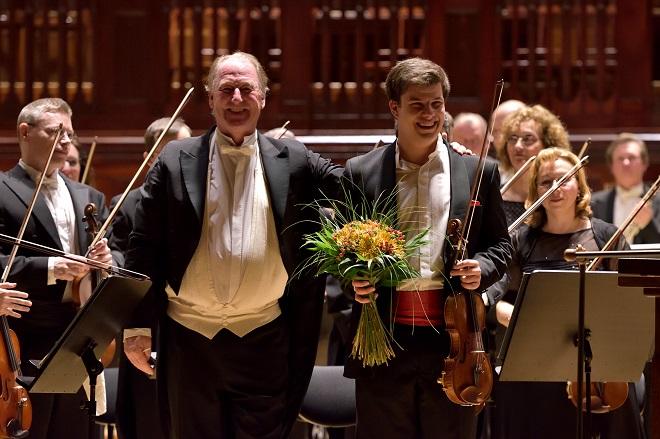 Symfonický orchestr hl.m. Prahy FOK - Jac van Steen, Jan Mráček (foto Petr Dyrc / FOK)