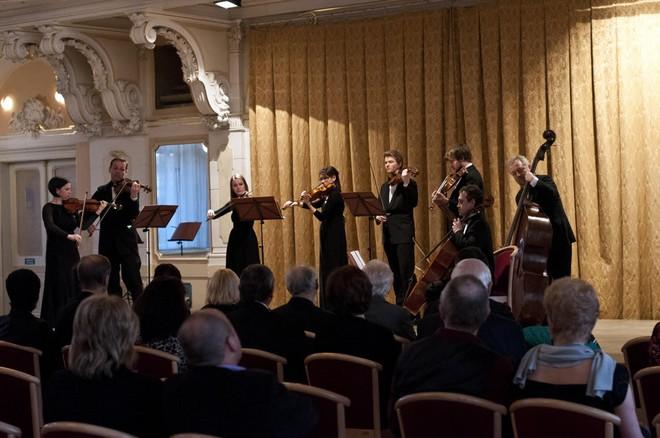 Pardubické hudební jaro 2016: Aprílový koncert - Barocco sempre giovane - Velký sál Muzea Chrudim (foto Lada Kolesárová)
