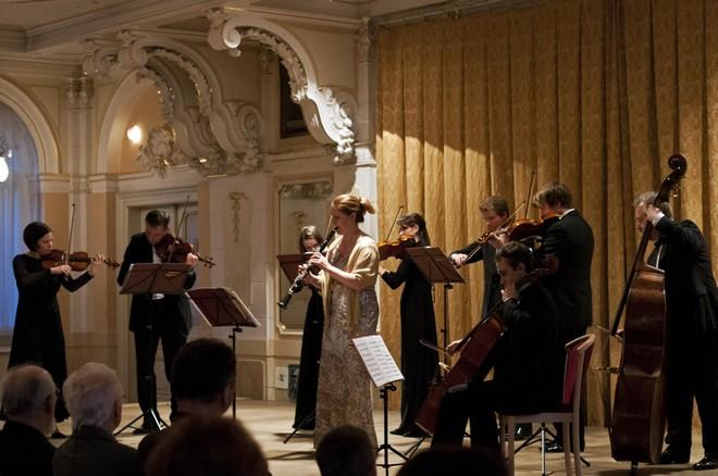 Pardubické hudební jaro 2016: Aprílový koncert - Ludmila Peterková (klarinet), Barocco sempre giovane - Velký sál Muzea Chrudim (foto Lada Kolesárová)