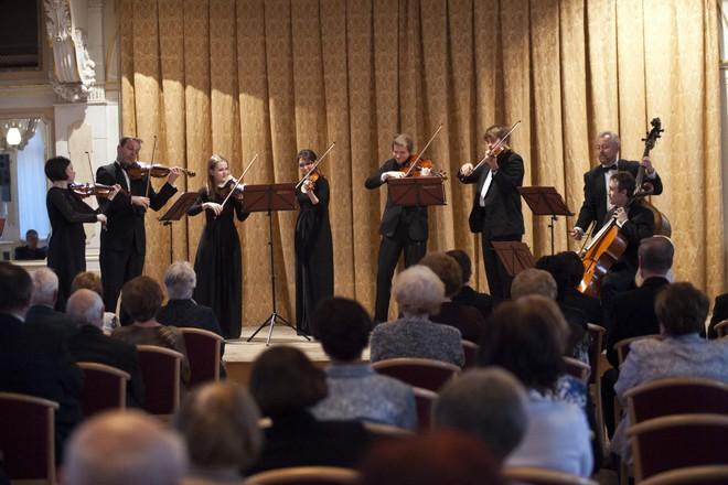 Pardubické hudební jaro 2016: Aprílový koncert - Barocco sempre giovane - Velký sál Muzea Chrudim (foto Miloš Kolesár)