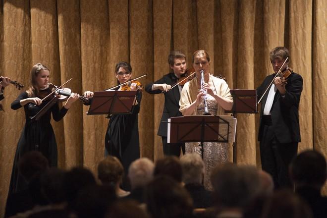 Pardubické hudební jaro 2016: Aprílový koncert - Ludmila Peterková (klarinet), Barocco sempre giovane - Velký sál Muzea Chrudim (foto Miloš Kolesár)