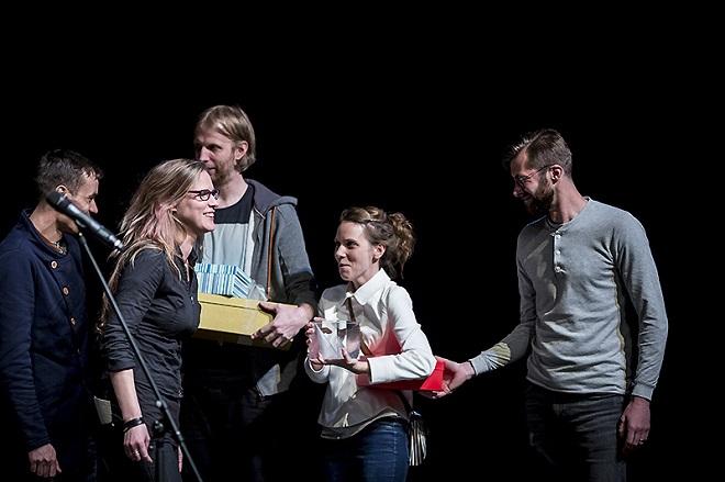 Česká taneční platforma 2016 - Guide - Michal Rydlo, Dan Grygor - Cena za světelný design (foto Tanec Praha)