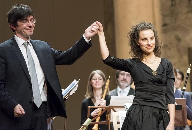 G.F.Händel: Il delirio amoroso - V.Luks, R. Milanesi - Praha 20.4.2016 (foto © Petra Hajská)