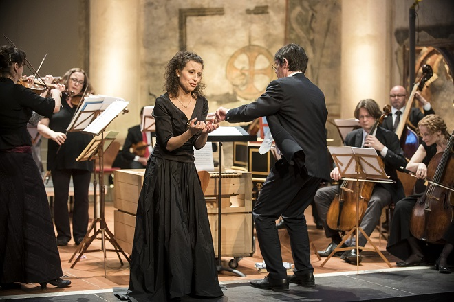 G.F.Händel: Il delirio amoroso - Collegium 1704, V.Luks, R.Milanesi - Praha 20.4.2016 (foto © Petra Hajská)