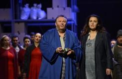 Ludwig van Beethoven: Fidelio - Jan Vacík (Florestan), Maida Hundeling (Leonore) - SND Bratislava 2016 (foto P. Breier)