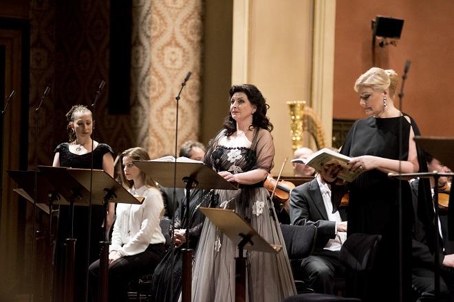 L.Janáček: Její pastorkyňa - Adriana Kohútková a Karita Mattila - Praha 15.4.2016 (foto Petr Kadlec)