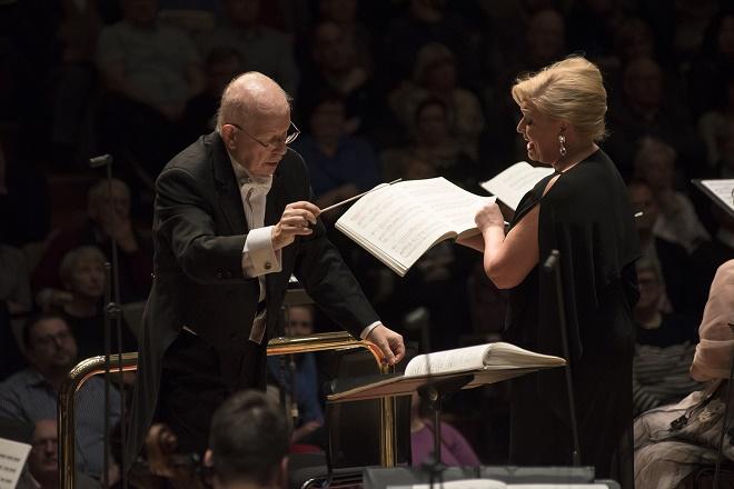 Leoš Janáček: Její pastorkyňa - koncertní provedení - Royal Festival Hall Londýn 2016 (foto Petr Kadlec)