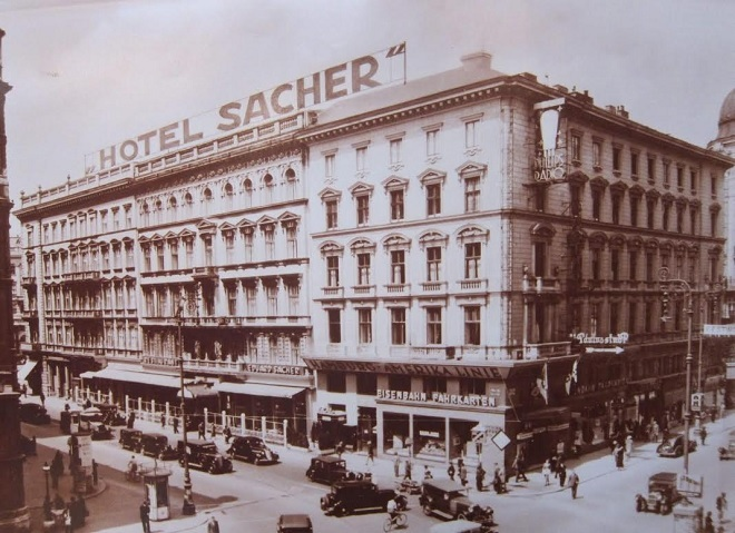 Hotel Sacher Viedeň (foto sacher.com)