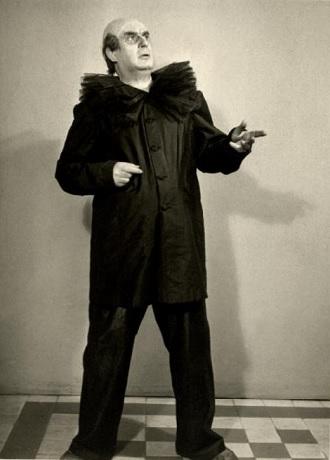R.Leoncavallo: Komedianti - Josef Křikava (Tonio) - ND Praha 1922 (foto archiv ND)