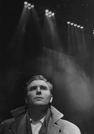 V.Kašlík: Krakatit - Jiří Zahradníček (Inženýr Prokop) - Ostrava 1961 (foto archiv)