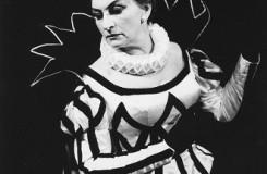 G. Verdi: Maškarný bál - Margita Česányiová (Amélia) - SND 1964 (foto archív SND / foto Jozef Vavro)