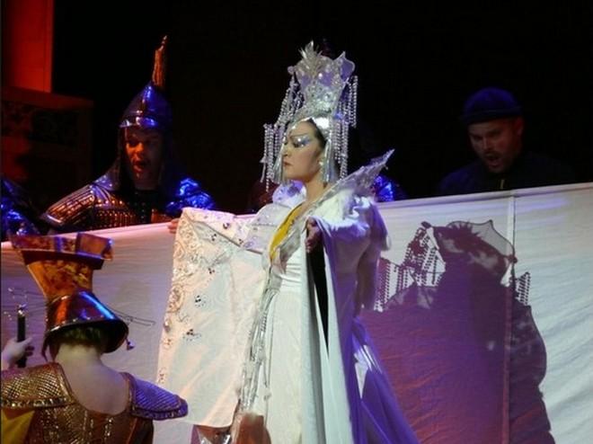 Maida Hundeling ako Turandot (foto SND Bratislava)