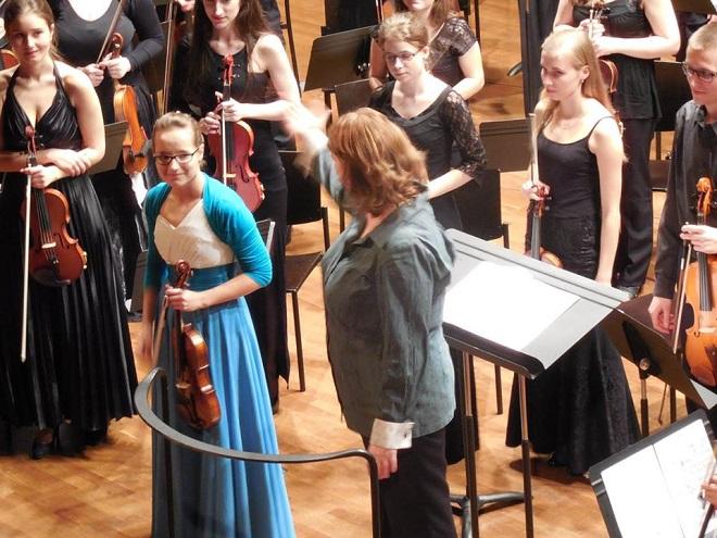 Markéta Dominikusová, Symfonický orchestr Pražské konzervatoře - absolventský koncert