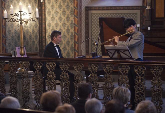 Pardubické hudební jaro 2016 – Jaroslav Tůma, Yoshimi Oshima – Heřmanův Městec 15.4.2016 (foto Miloš Kolesár)