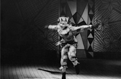 Igor Stravinskij: Petruška - Vlastimil Jílek (Petruška) - 22.6.1962 - ND Praha (archiv ND/Jaromír Svoboda)