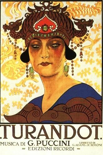 plakát k premiéře Pucciniho Turandot (foto archiv)