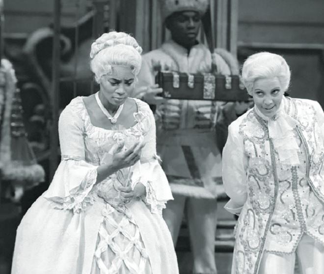 R.Strauss: Růžový kavalír - Barbara Hendricks (Sophie), Brigitte Fassbaender (Oktavian) - MET 1986 (foto © Beth Bergman 2014)
