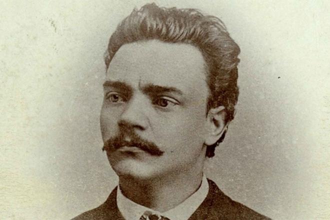 Antonín Dvořák v roce 1868 (zdroj Národní muzeum)
