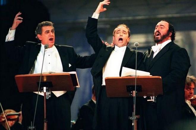 The Three Tenors: Plácido Domingo, José Carreras, Luciano Pavarotti (zdroj cmuse.org)