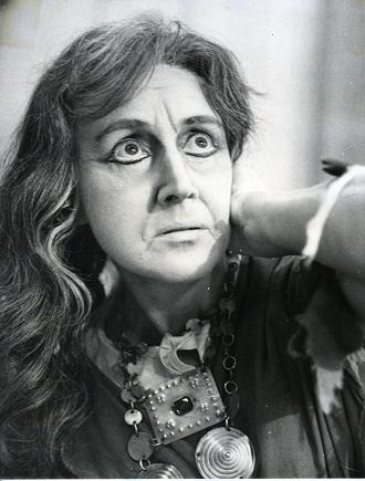 G. Verdi: Trubadúr - Jaroslava Sedlářová (Azucena) SND 1974 (foto archív SND)