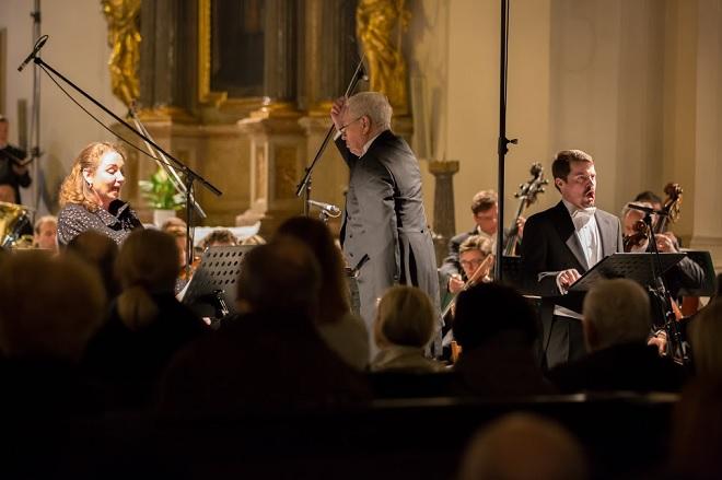 Velikonoční festival duchovní hudby Brno – Filharmonie Brno, Pavla Vykopalová, Libor Pešek, Jiří Brückler - Brno 3.4. 2016 (foto Petr Francán)