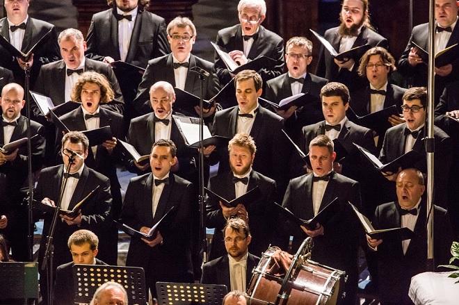 Velikonoční festival duchovní hudby Brno – Český filharmonický sbor Brno - Brno 3.4. 2016 (foto Petr Francán)