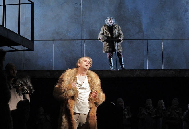 M. P. Musorgskij: Boris Godunov - Michail Kazakov (Boris Godunov) - ND (foto Hana Smejkalová)