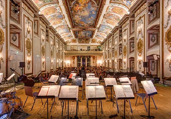 Haydnsaal - zámek Esterházy Eisenstadt (foto archiv)