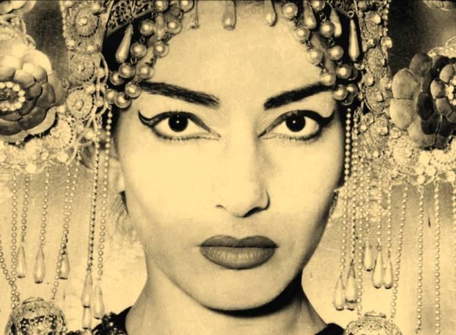 Maria Callas jako Turandot (foto archiv)