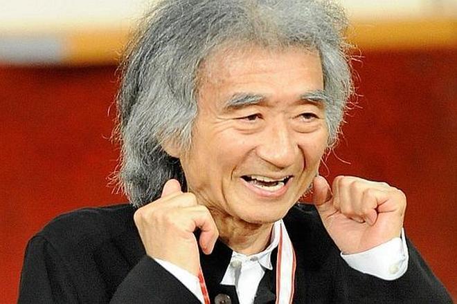 Seiji Ozawa (foto archiv)