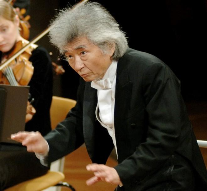 Seiji Ozawa (foto archiv autora)