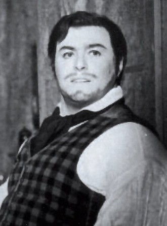 Luciano Pavarotti v Bohémě - Reggio Emilia 1961 (foto archiv)