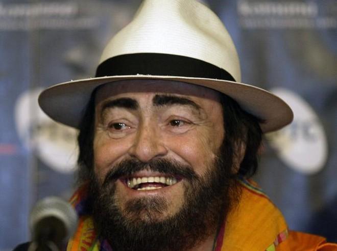 Luciano Pavarotti (foto Srdjan Ilic/AP)