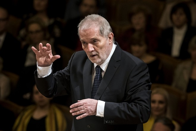 Česká filharmonie – Peter Eötvös - Dvořákova síň Rudolfina Praha 2016 (foto ČF)