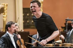 Martin Grubinger (perkuse), Česká filharmonie a Peter Eötvös – Dvořákova síň Rudolfina Praha 2016 (foto ČF)