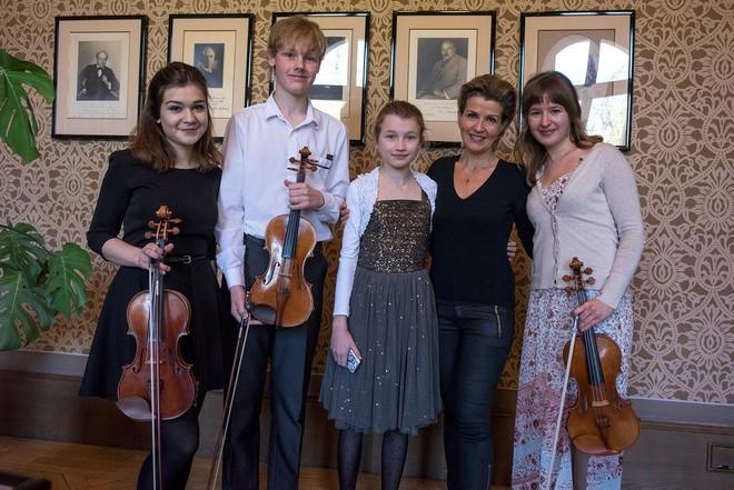 Masterclass Anne-Sophie Mutter - Rudolfinum Praha 2016 (foto © Petr Kadlec/FB ČF)