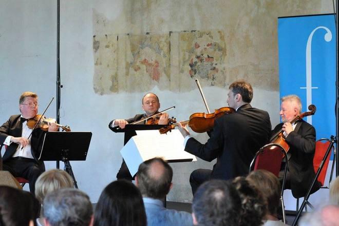 Čiurlionis Quartet - Pražské jaro 2016 (foto Zdeněk Chrapek)
