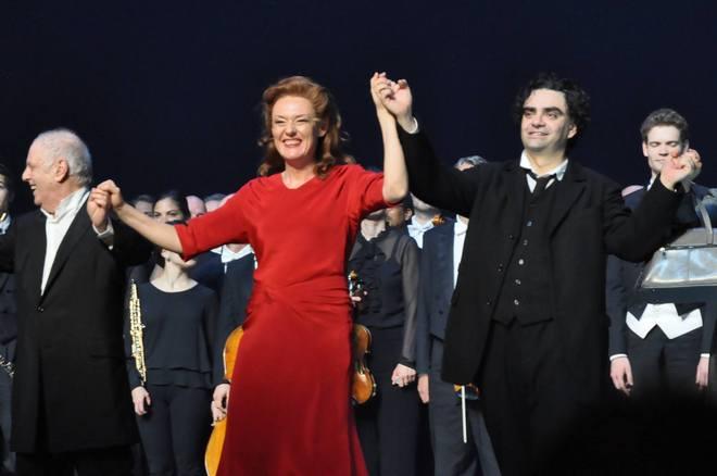 B.Martinů: Juliette - premiérová děkovačka -Staatsoper Berlin 2016 (foto Staatsoper Berlin)