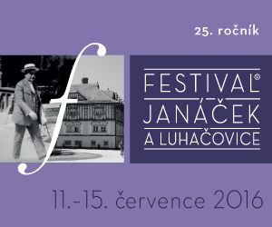 banner Janáček Luhačovice