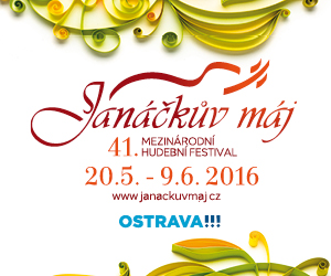 banner Janáčkův máj