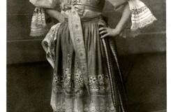 Leoš Janáček: Její pastorkyňa - Gabriela Horváthová (Kostelnička) - ND Praha 1916 (foto archiv ND Praha)