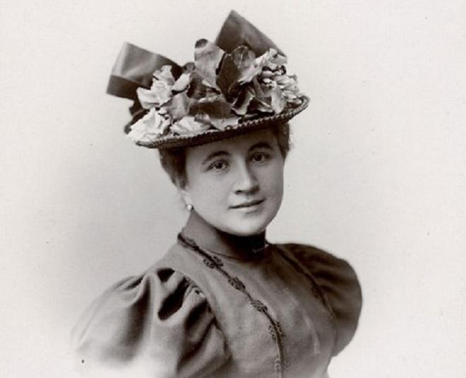 Berta Foersterová-Lautererová (foto Společnost Josefa Bohuslava Foerstera)