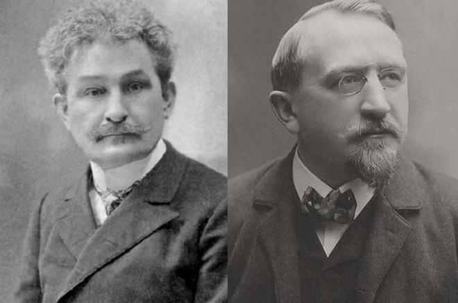 Leoš Janáček - Karel Kovařovic (foto archiv)