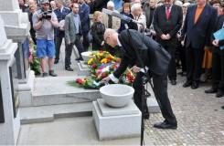 Pietní akt u hrobu Smetany otevřel 71. ročník Pražského jara