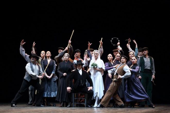 Antonio Gades, Alfredo Mañas, Francisco Nieva: Krvavá svadba - Compañía Antonio Gades (foto Wan Xiaojing)