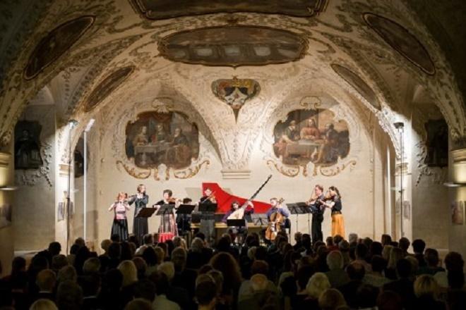 Collegium Marianum v Refektáři kláštera dominikánů, 2014 (foto © Petra Hajská)
