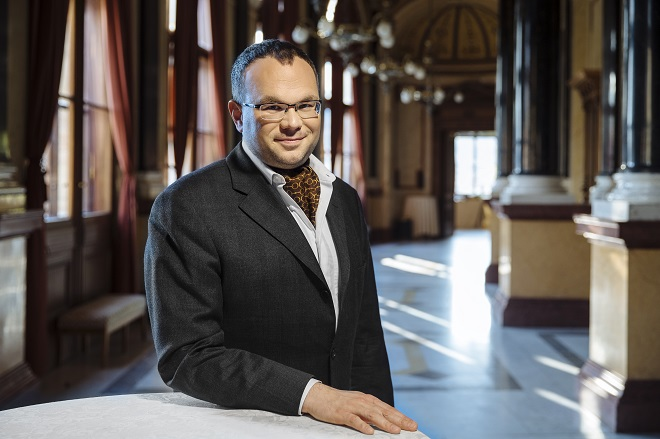 David Mareček (foto © Česká filharmonie)