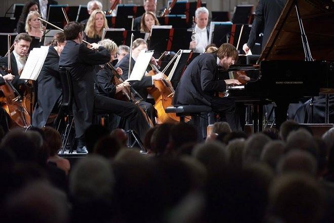 Pittsburský symfonický orchestr - Daniil Trifonov - Dresdner Musikfestspiele 2016 (foto © Stephan Floss)